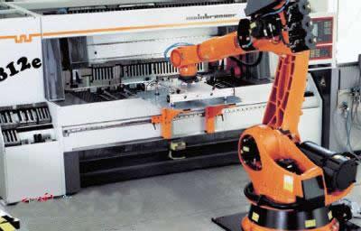 冲压线旁的人工智能__中国机床商务网