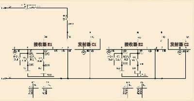 冲床行程继电器接线图