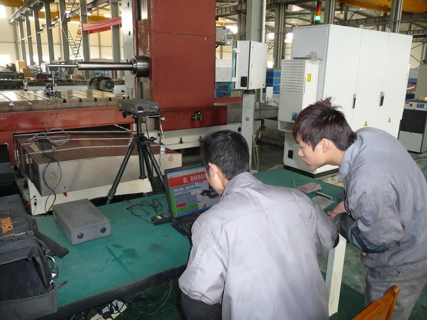 天通吉成公司获三一重工8台数控卧式铣镗床订单