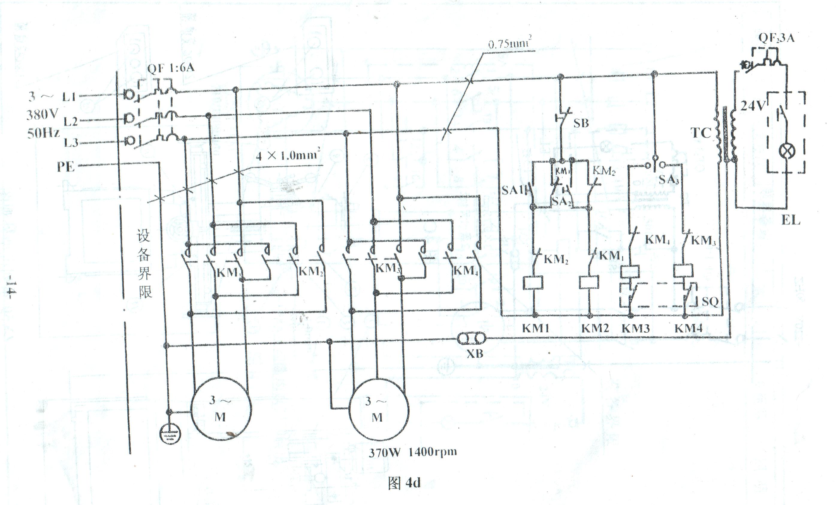 x62w万能铣床结构图