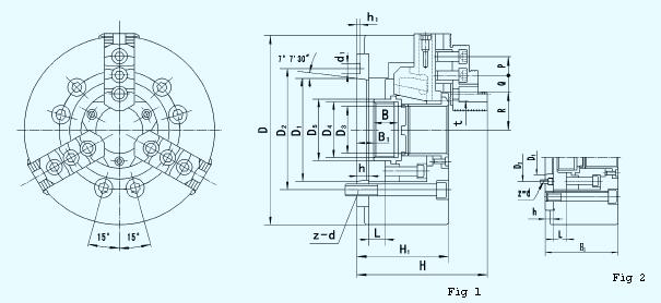 液压卡盘续电器电路图