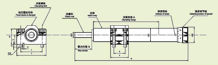 滑板底部结构图