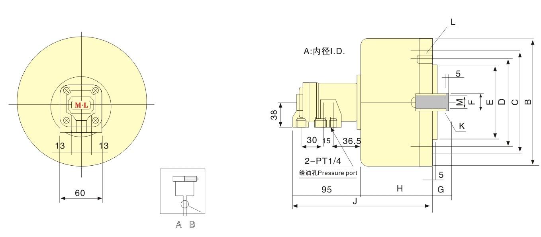 中实回转气压缸厂家,中实回转气压缸厂家供应-温岭市图片
