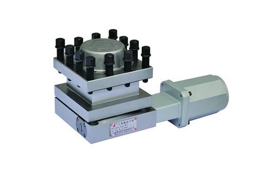 ld4b型系列立式电动刀架采用蜗轮蜗杆传动
