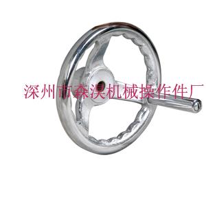 铸铁圆轮缘手轮图片