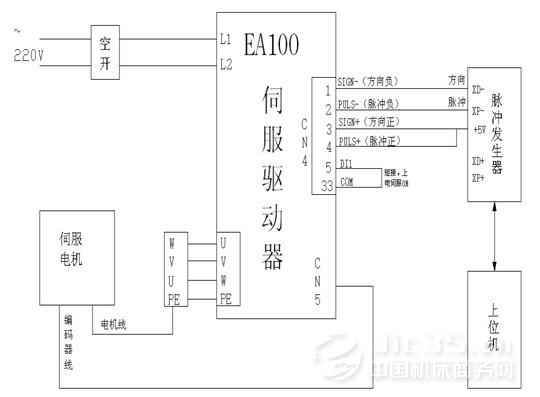 图2,系统原理及接线图