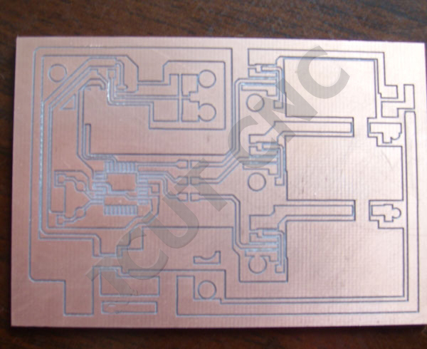 小型电路板雕刻机