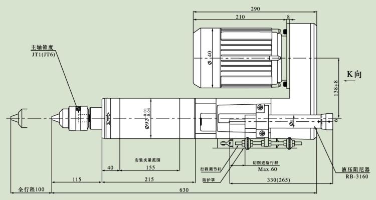 液压机自动电路实物接线图